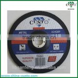 China Supplier Abrasive depressed center grinding wheel t27 180mm