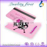 Hot Sale Competitive Price Printed PVC Card, Authenticity Certificate Card Plastic, Gift Card Printing China