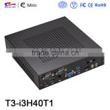 Support Windows Realan Quad Core Fanless Mini PC core i3 i5 i7