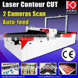 CCD Laser Cutter Plotter for Sublimated Apparel Sportswear