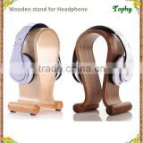 Customized wood bracelet Earphone / Headset / Headphone Display Stand for Sale in china