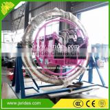 New design kids ride fiber optic human gyroscope rides
