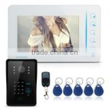 "7"" LCD Video Door Phone Intercom System Kit"