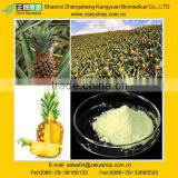 Stem bromelain, bromelin, pineapple extract, also called pineapple enzyme, 80GDU/G-2400GDU/G