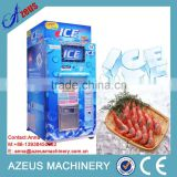 China self-service bagged ice vendor with coin and bill operated system/ice vending machine