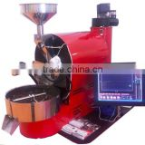 Automatic Electric & Gas 1 kg 2kg 3kg 5kg 6kg 10kg 20kg/coffee bean roasting machine /commerical 1kg coffee roasting machine