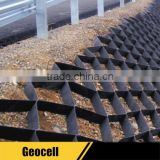 Plastic Gravel Stabilizer,Gravel Driveway Black HDPE Grid Geocell for Slope Stabilization