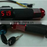 24v 36v 48v throttles with battery indicator for bike Electric Bicycle Conversion Kit ebike