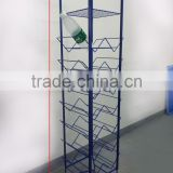 Useful 8-tire mineral water display rack