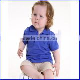 OEM manufacturers plain cheap election collar tshirt design for kid