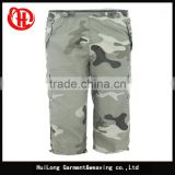 military camouflage short pants stock trousers mens capris camo shorts