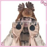 High Quality Plush Animals Head Hats With Paws