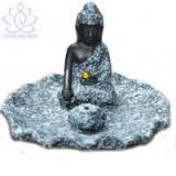 Ceramic Buddha Incense Burner Aromatherapy Incense Holder Buddhism Burner for Incense Stick Buddha Craft Home Decor