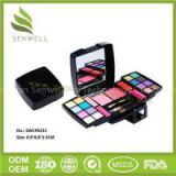 High Quality Cheap Makeup Sets For 16 Colors Eye Shadow With Blusher And Pressed Powder