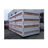 Self Packed Type Container Modular House With Color Bond Sandwich Panel OEM