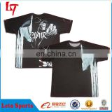 Fashion design custom full sublimation printing dri fit baseball jersey/baseball t shirt