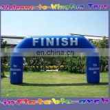 Sports training inflatable finish line/start arch line