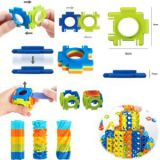 Modulmax ABS Blocks DIY Toys 60PCS 3D Building Blocks Toys (10274043)