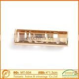 2015 metal brass tube for jewelry components decoration