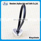 Alloy Love Peach Heart Couple Key Chain Creative cute leather key ring key chain New wholesale