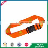 Wholesale high quality custom tsa lock luggage belt strap