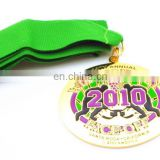 High Quality Guaranteed 100% OEM Gold METAL Medallions RIBBON