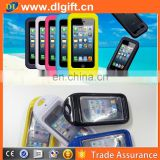 The charmest! fluorescent mobile phone waterproof bag Waterproof driving bag for mobile phone