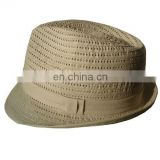 Fashion Fedora trilby hat. Men fedora hat, Summer fedora hat