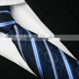Custom silk made jacquard woven mens ties