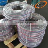 PVC Spiral Steel Wire Reinforced Hose Pipe used for Drawing and Conveying water, Oil and powder