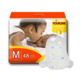 Super soft raw material baby diaper disposable nappy with wetness indicator