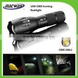 5Model ZOOM Focusing Aluminum XML2 T6 LED Tactical Flashlight