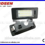 2014 hot design Q5 LED licence plate lamp with no errors, no warnings, no flickers, no OBC errors,super bright