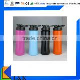 Vacuum insulated stainless steel water bottle/sport bottle