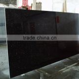 black dot glaxy granite slab