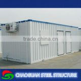 Multi functional steel frame modular homes, steel container home for sale,modern container homes with Free design