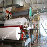 2014 hot! 1575 mm toilet tissue paper facial tissue paper bumf paper making machine, paper machinery mill