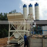 Concrete Machinery yhzs50 mobile concrete batching plant belt conveyor concrete batching plant
