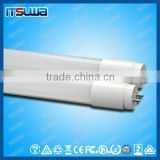 All Plastic UL DLC Approved Japanese LED Light Tube 24w T8 with 5 Years Warranty 300 Degree Beam Angle