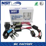 Long lifespan full digital ballast H4 pulse telescopic Xenon lamps HID Xenon Kit h4 hi lo hid xenon bulb