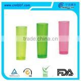 Top quality Translucent cup Unbreakable plastic mug plastic beer glass suitable for party use