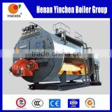 Quick steam genaration 0.5t/h to 20t/h Gas and oil fired biogas steam boiler economizer for industries