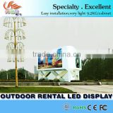 Big size RGX P6 outdoor China movies sex screen ,rental stage led display for advertising