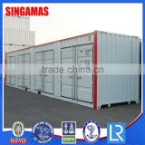 Factory Price Stainless Steel 40'H Side Open Multi-door Shipping Container