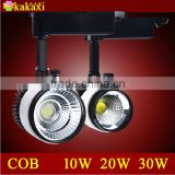 High quality LED Track Light 10W 20W 30W COB The Clothing Store LED spotlight LED Rail Light