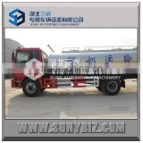 FOTON AUMAN 4*2 milk transport truck,stainless steel truck milk tank, 9000L milk cooling tank price