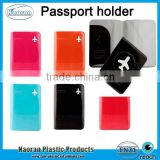 Factory Plastic passport cover, PVC passport holder wallet for travel agency promotion                                                                         Quality Choice                                                     Most Popular