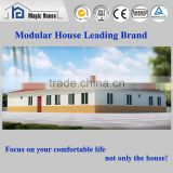 2016 finished prefab house luxury container house mobile restaurant/Prefab homes light steel frame structure house