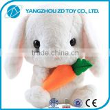 2016 new beautiful animal plush rabbit dolls                                                                         Quality Choice