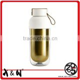 Factory Custom Design Leak-Proof Sport double wall ss shaker bottle